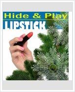 Мини вибратор CalExotics Hide & Play Lipstick