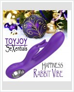 Toy Joy SeXentials Happiness Rabbit – универсальный женскицй вибратор.