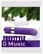 Музыкальный вибратор OhMiBod – Freestyle G Music Vibrator Purple