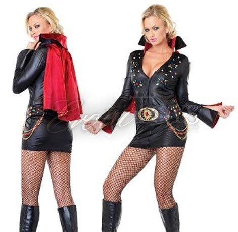 80s rocker adult mens costume