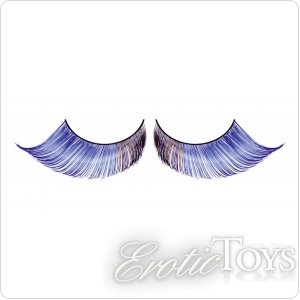 Реснички Light-Blue Feather Eyelashes