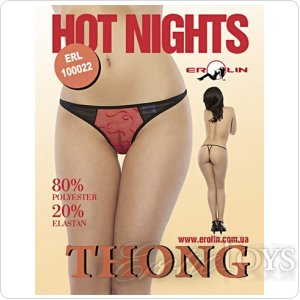 Трусики Hot Nights Red, M