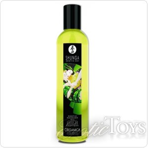 Массажное масло Erotic Massage Oil Exotic Green Tea