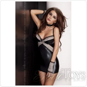 VIRGIN CHEMISE black XXL/XXXL - Passion