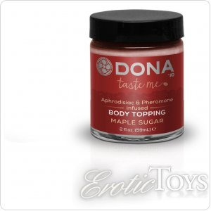 Карамель для тела DONA Body Topping - MAPLE SUGAR