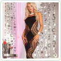 Платье Zig-zag-zig seamless dress Black