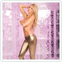 Gold digger ankle zip pants S/M