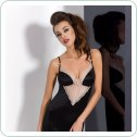 LOTUS CHEMISE black S/M - Passion