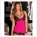 Копмлект HOLLYWOOD CHEMISE SET PINK, M/L