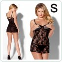 SHARON CHEMISE gold 6XL/7XL -  Passion