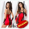 RODOS CHEMISE red S/M - Passion